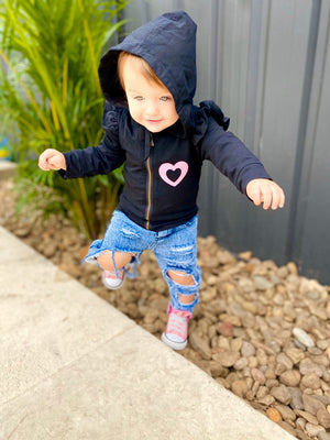 MLW By Design - Personalised Flutter Jacket | CLEARANCE