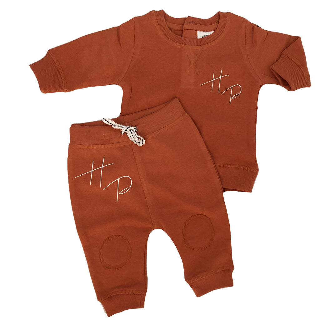 MLW By Design - Initials Tracksuit | Brown