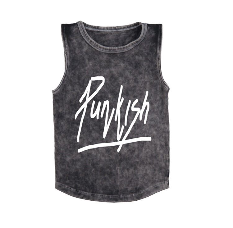 MLW By Design - PUNKISH Tank | White