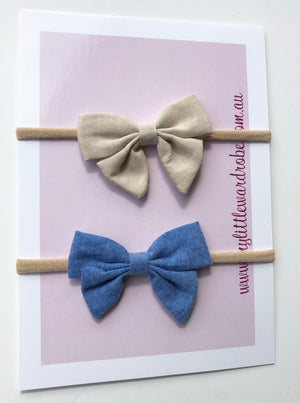 Nautica Headbands | Pack of 2