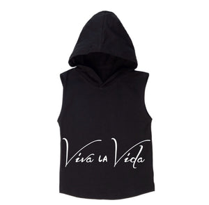 MLW By Design - Viva Sleeveless Hoodie | White Or Black