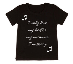 MLW By Design - Love Bed & Mummy Tee | Black or White