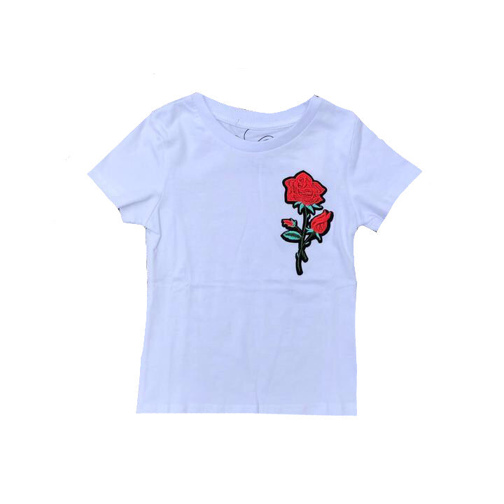 Carrington Kids - Rose Tee White