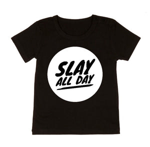 MLW By Design - Slay All Day Tee Vol. 2 | Black or White