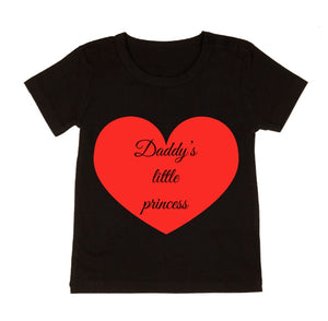 MLW By Design - Daddy's Princess | Black or White