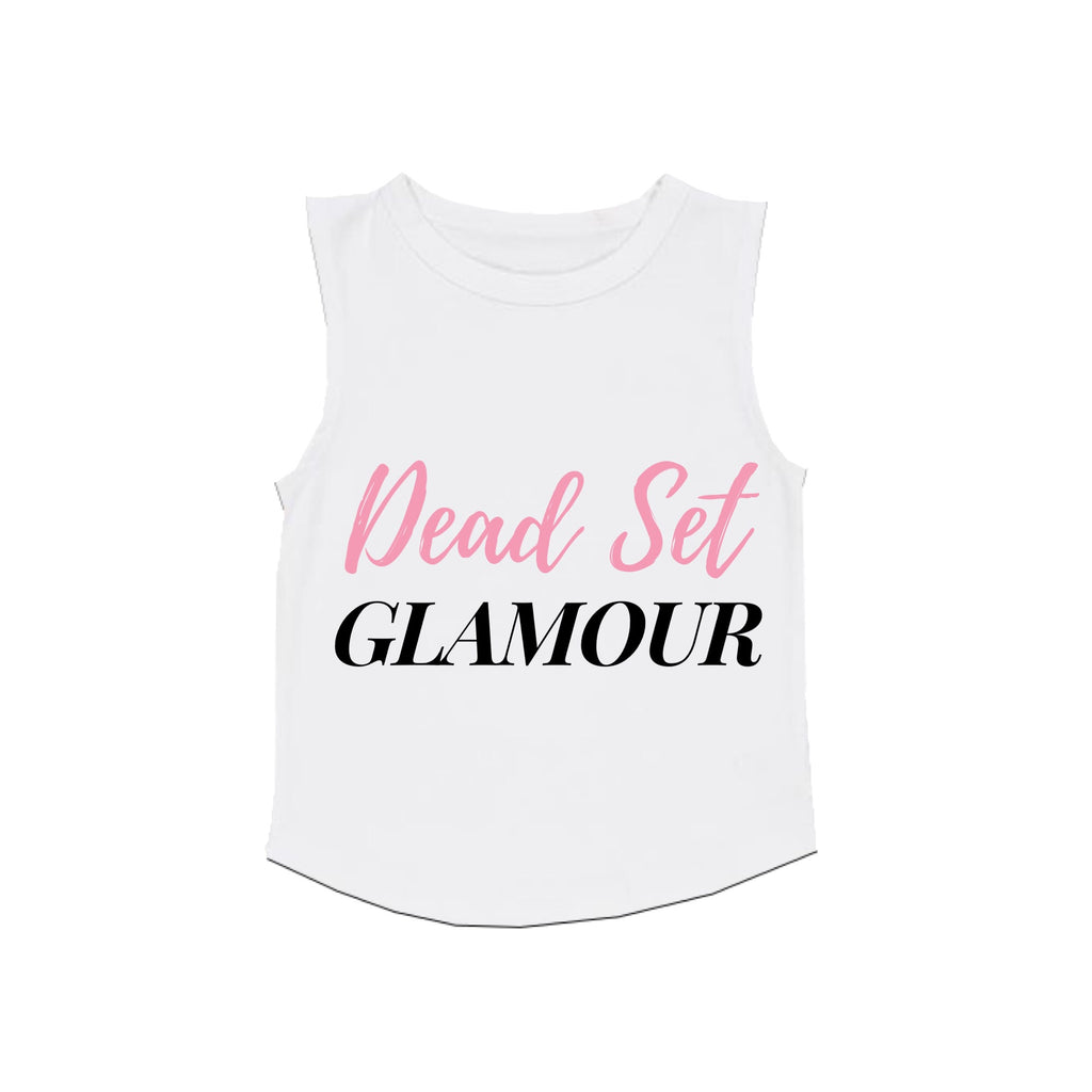 MLW By Design - Dead Set Glamour Tank | White or Black