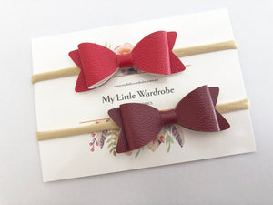 Red Blend Headbands | Pack of 2