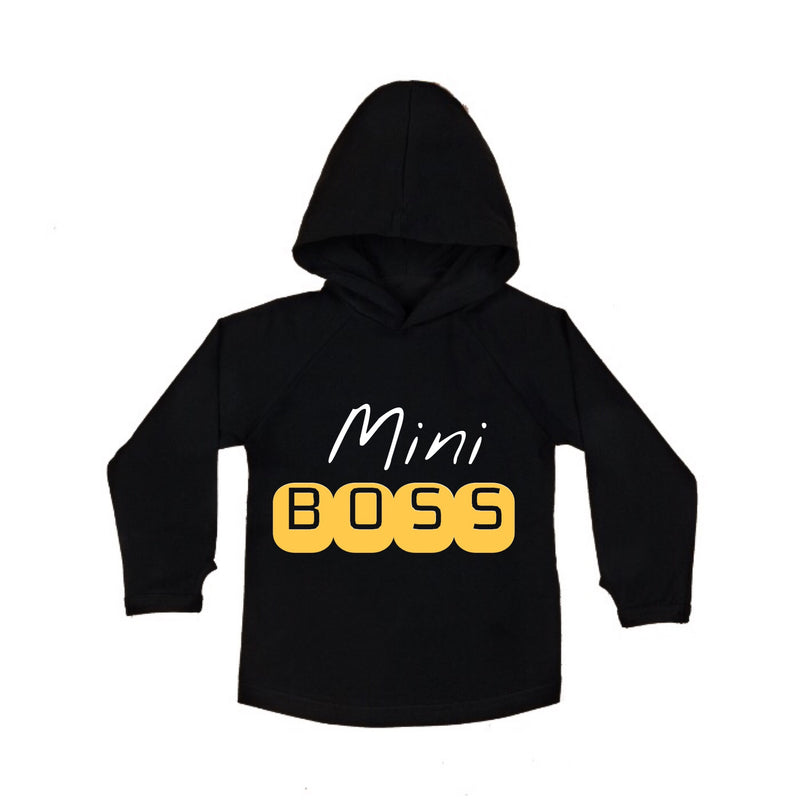 MLW By Design - Mini Boss Black Hoodie