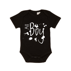 MLW By Design - All Boy Bodysuit | White or Black