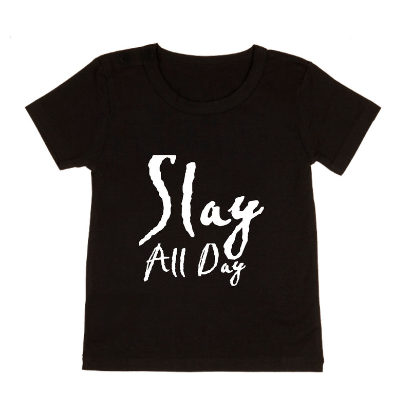 MLW By Design - Slay All Day Tee | White or Black