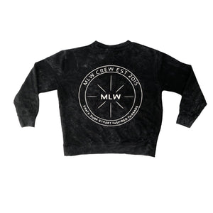 MLW By Design - S.S.S Stonewash Jumper | White