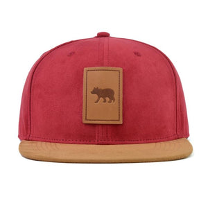 Cubs & Co - SUEDE RED WITH CUB DETAIL