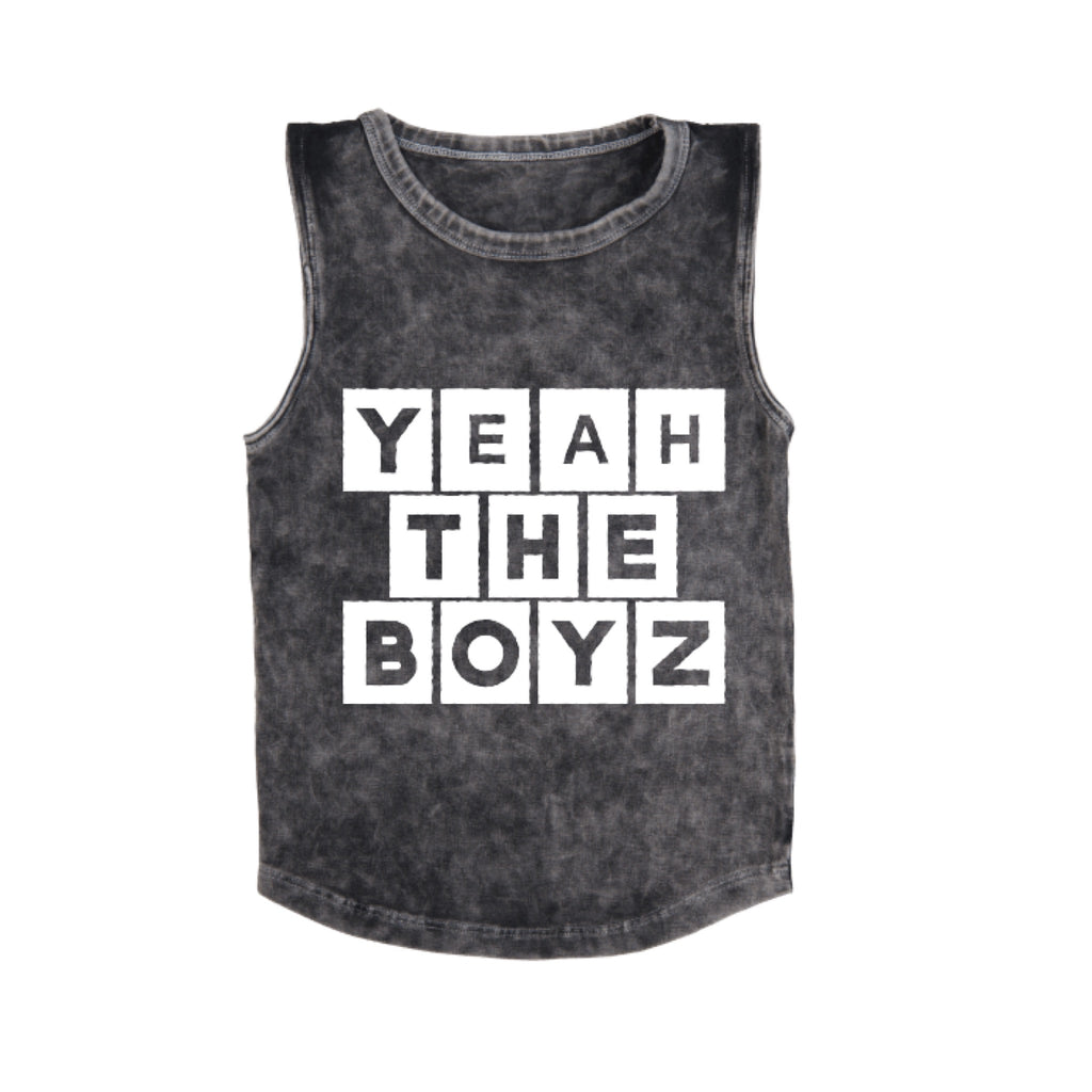 MLW By Design - Yeah The Boyz Stonewash Tank