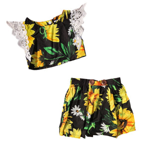 MLW By Design - Sunflowers Skirt Set