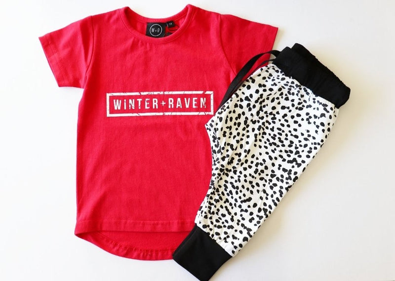 Winter and Raven - Printed Harem Pants