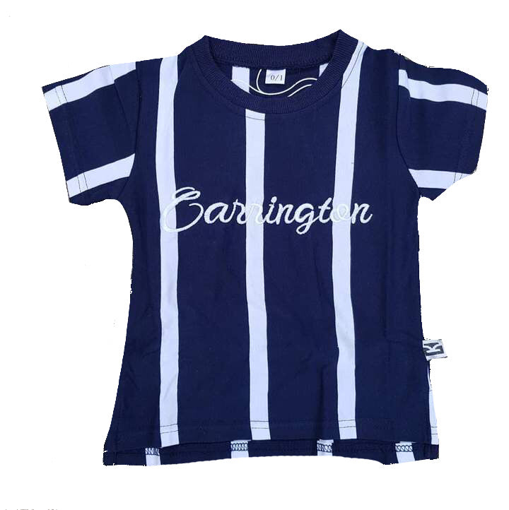 Carrington Kids - Stripe Navy Tee