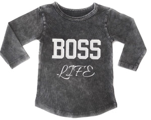 MLW By Design - Boss Life Long Sleeve Tee *LIMITED EDITION*
