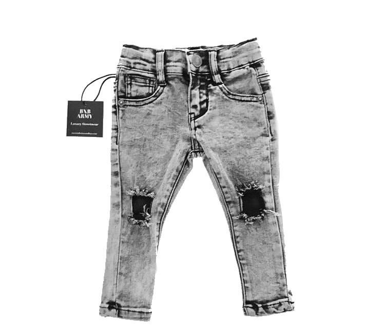 Ballerinas and Boys - Acid Wash Jeans CLEARANCE