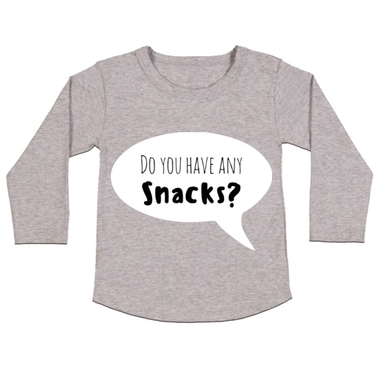MLW By Design - Snacks Long Sleeve Tee
