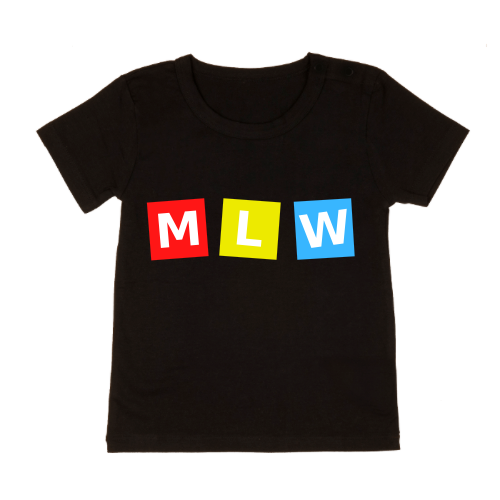 MLW By Design - MLW Retro Cubes Tee | Black or White