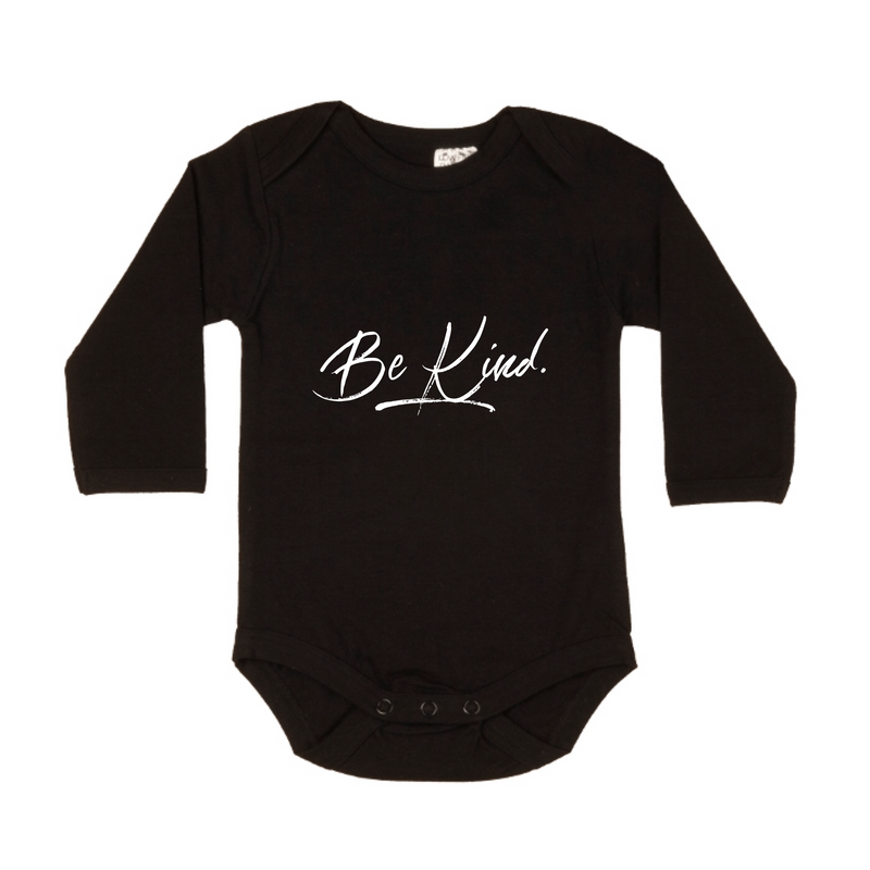 MLW By Design - Be Kind Bodysuit | White or Black