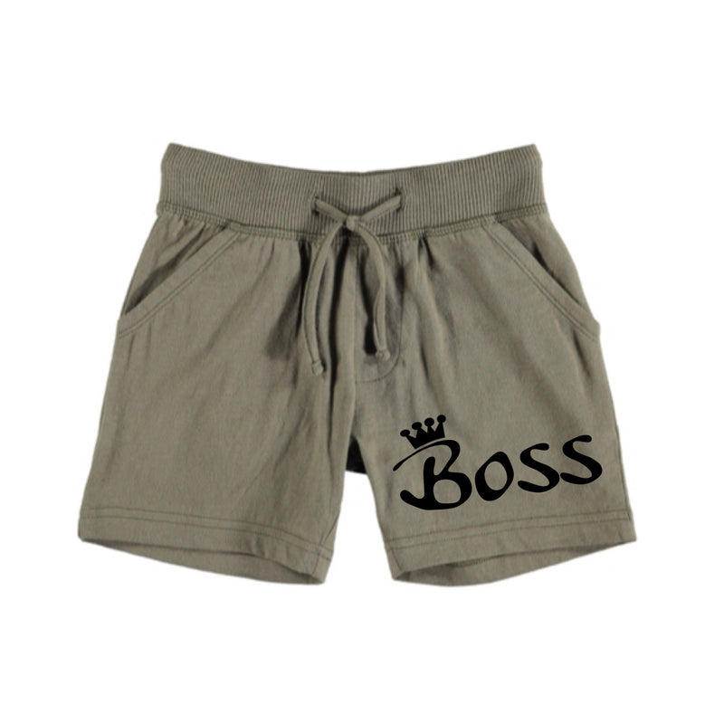 MLW By Design - Boss Shorts Green