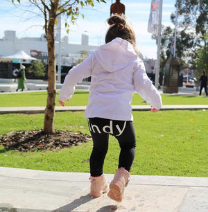 MLW By Design - Personalised Name Leggings | On Bottom