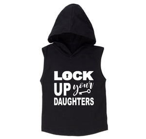 MLW By Design - Lock Up Sleeveless Hoodie | White or Black