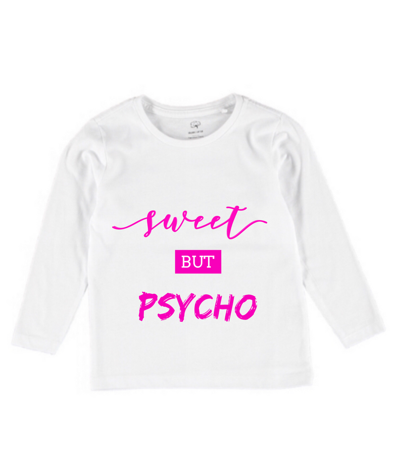 MLW By Design - Sweet Psycho Long Sleeve Tee