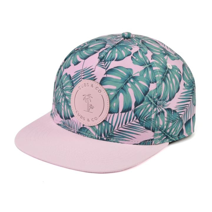 Cubs & Co - TROPICAL LEAF WITH LOGO
