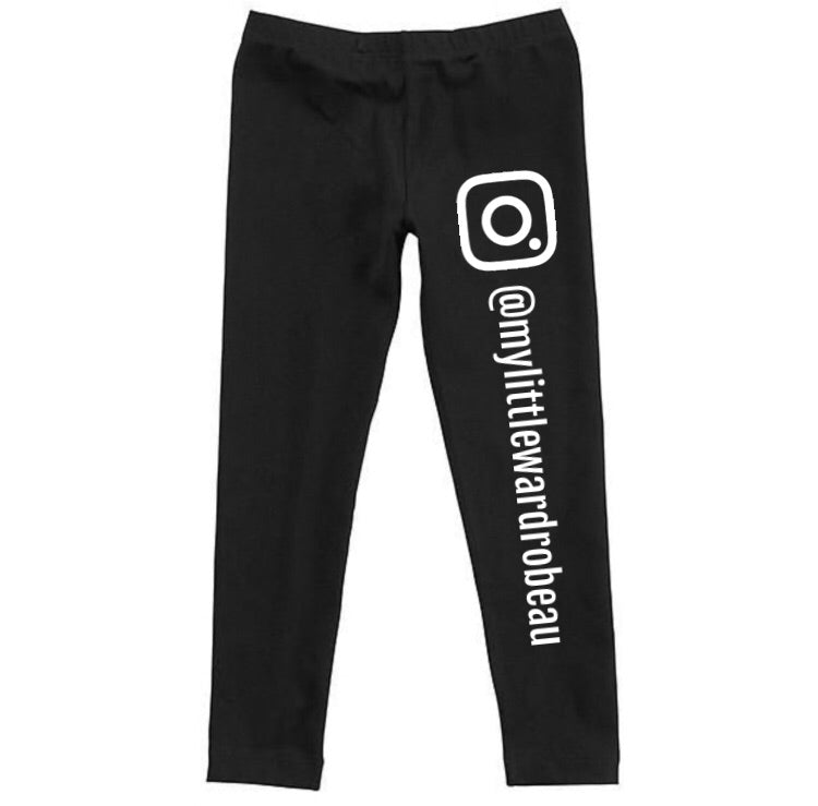 MLW By Design - Your Instagram Leggings