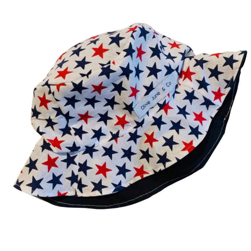 Olive June and Co - Boys Sun Bucket Reversible Hat | Twinkle Star