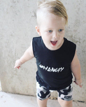 MLW By Design - #HANGRY Tank in Black or White