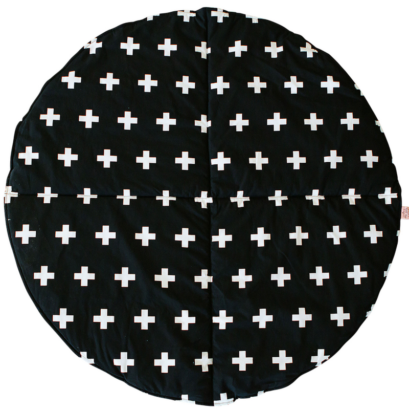 Bambella Designs - Play Mat | Cross Black