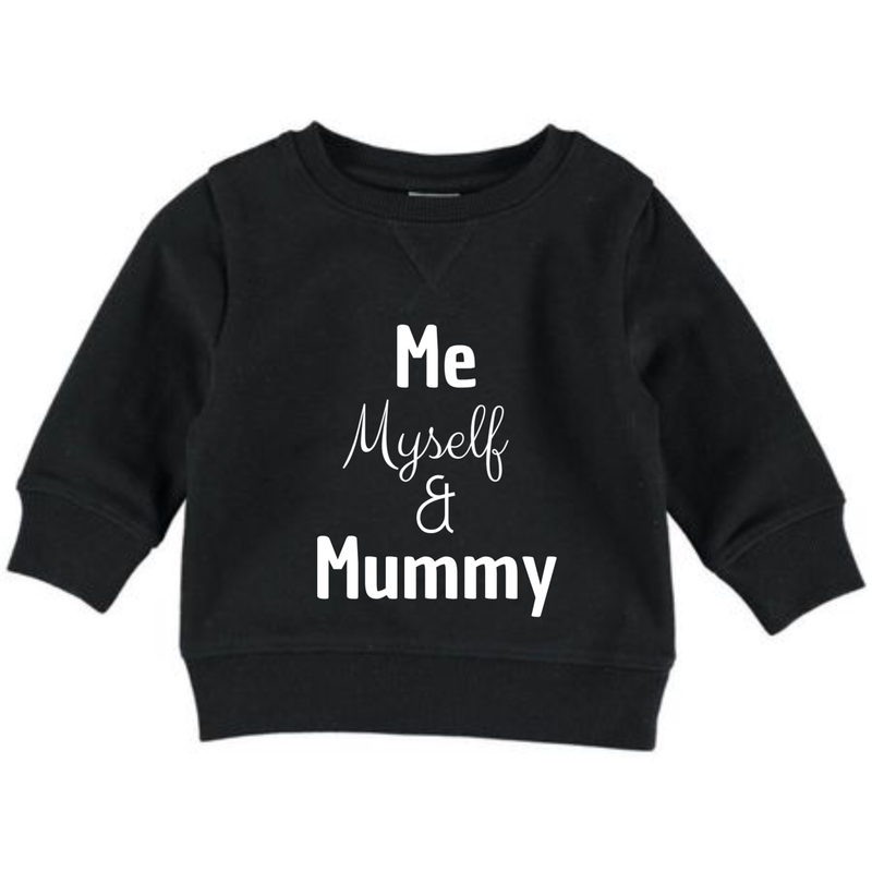 MLW by Design - Me, Myself & Mummy Jumper
