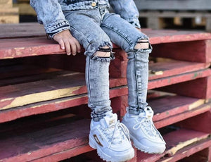 Ballerinas and Boys - Acid Wash Jeans