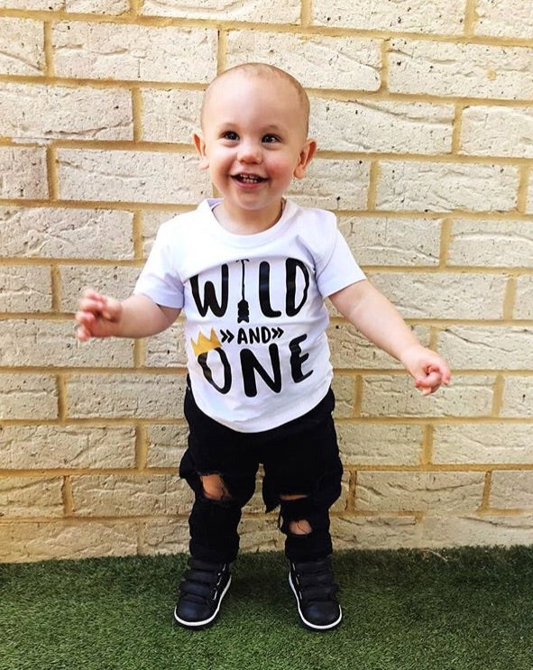 MLW By Design - Wild One Tee | Black Or White