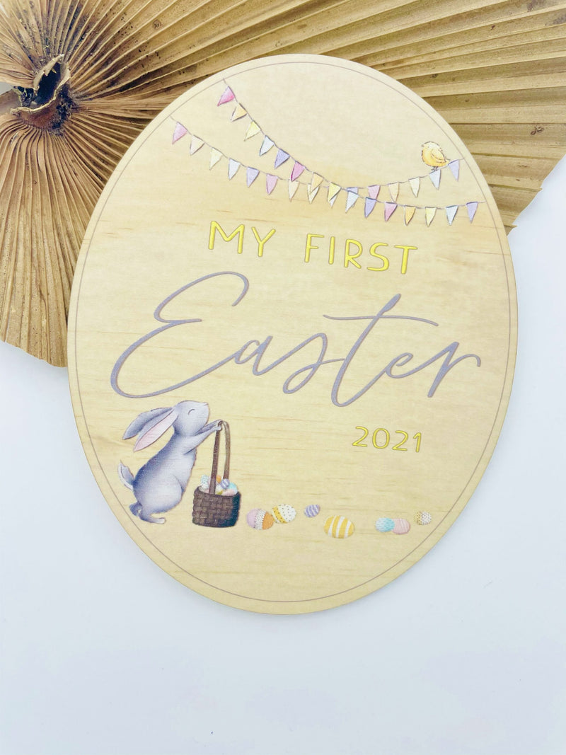 Timber Tinkers - Personalised My First Easter Egg