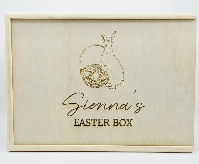Timber Tinkers - Keepsake Boxes –  Easter Bunny