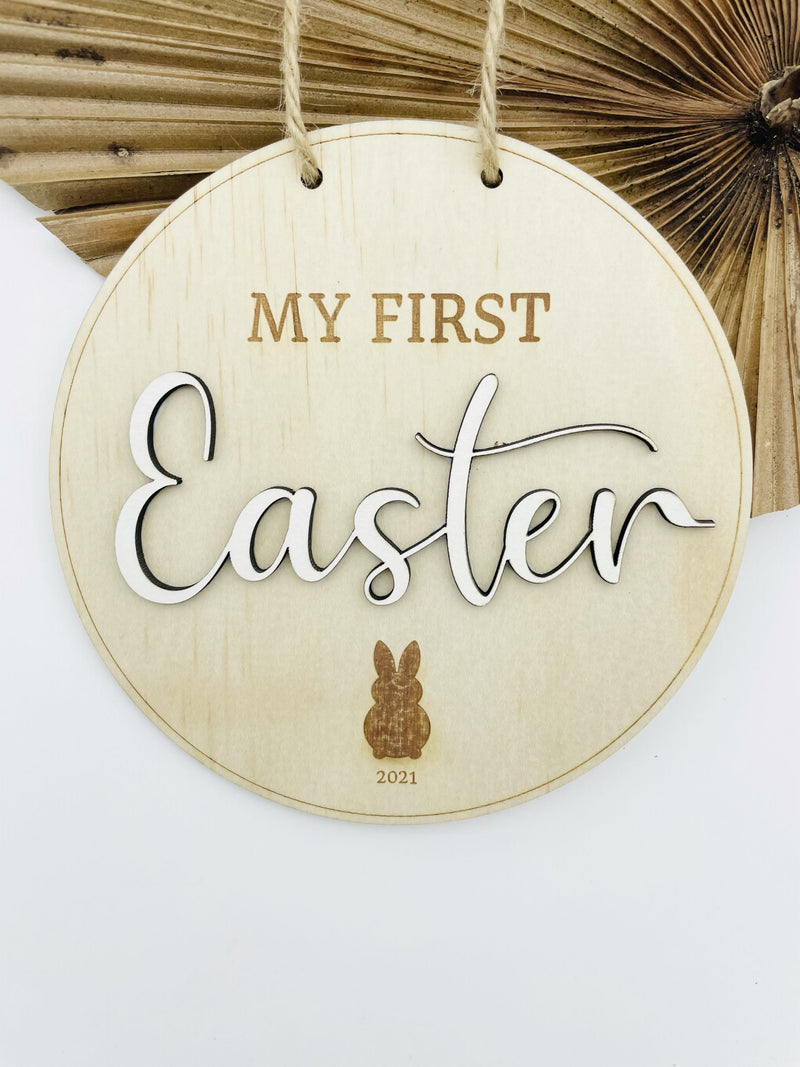 Timber Tinkers - My First Easter Sign