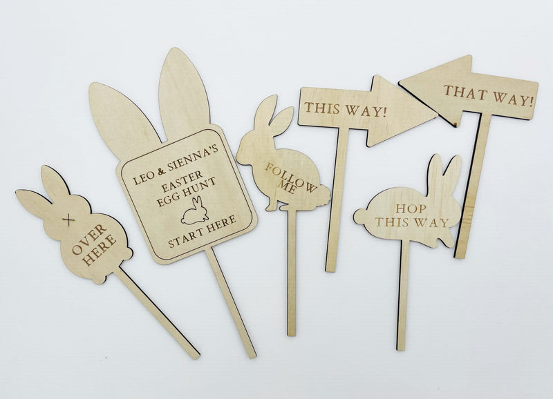 Timber Tinkers - Personalised Easter Egg Hunt Kit