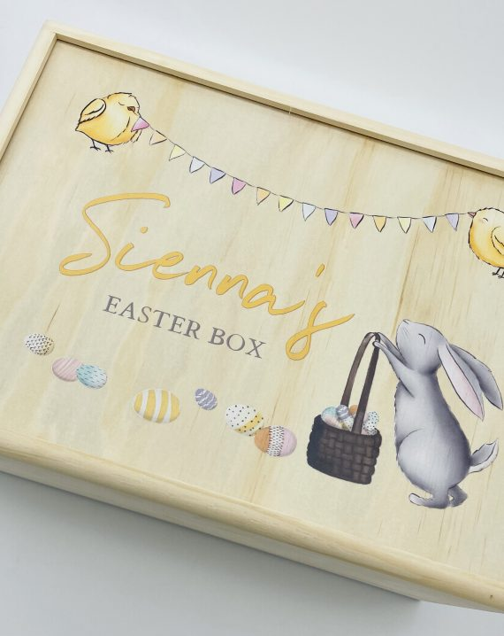 Timber Tinkers - Keepsake Boxes –  Easter Bunny Colour