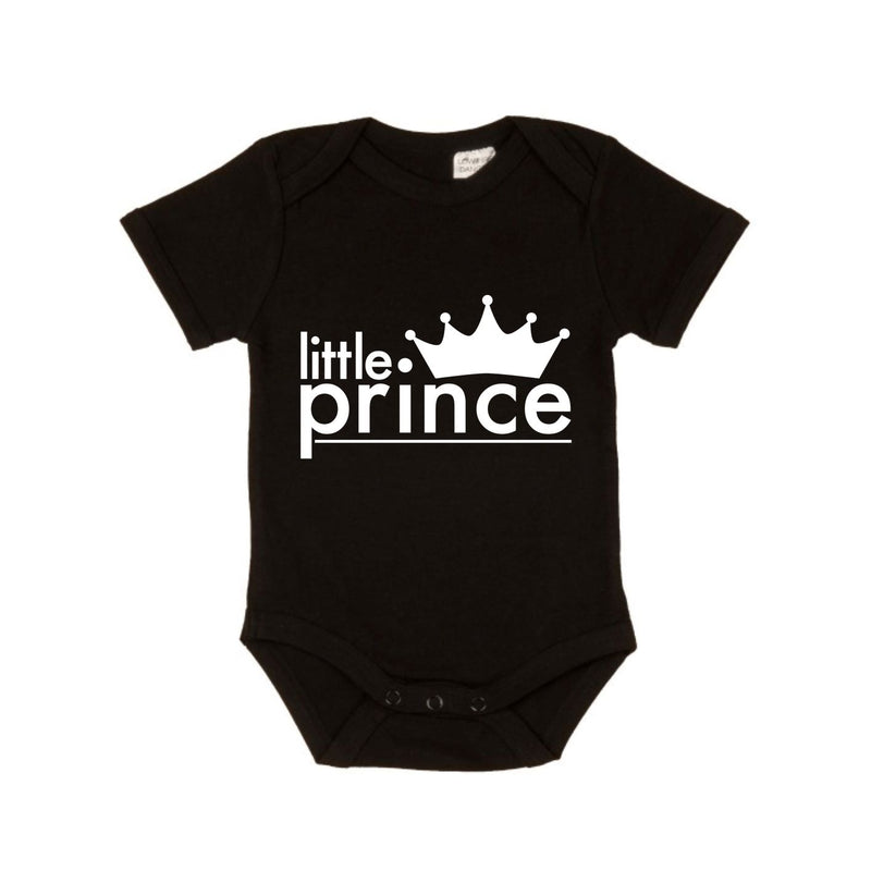 MLW By Design - Lil Prince Bodysuit | White or Black