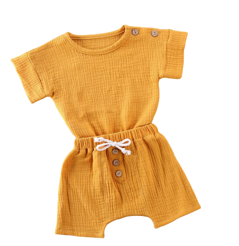 Back to Nature Set | Mustard