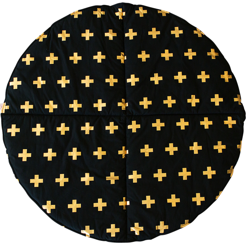 Bambella Designs - Play Mat | Cross Gold