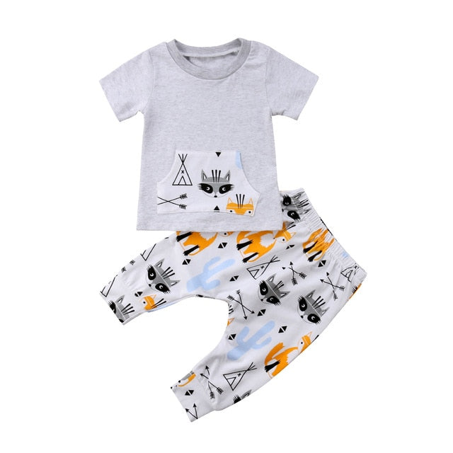 Raccoon Set | Grey