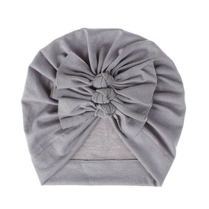 Ruffle Turban | Grey