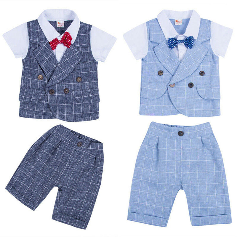 Dapper Set | Blue Bow