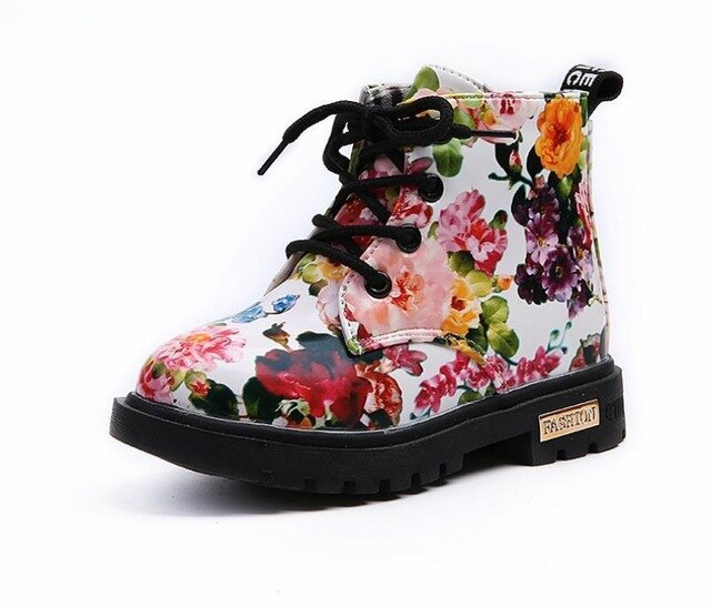 Floral Mini Docs | White