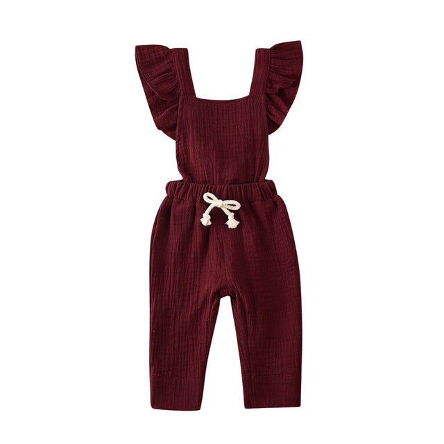 Dee Dee Playsuit | Burgundy